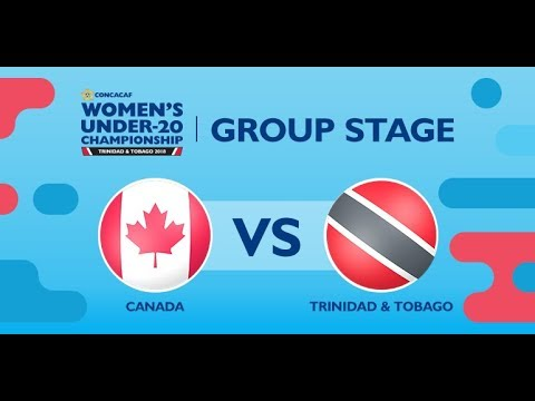 CU20W: Canada vs. Trinidad & Tobago