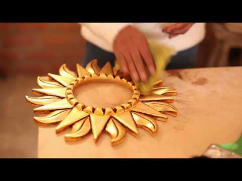 How is it Made? The Making of a Gilded Wood Mirror