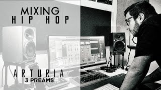 Mixing Hip Hop Beats | Raw Drums - Sampled Beat - Arturia Preamps
