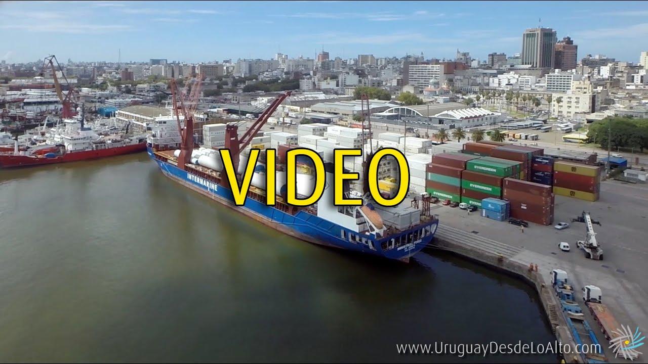 Video a reo en el puerto de montevideo uruguay desde lo for Fabrica de placares en montevideo