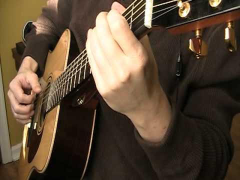 Carrickfergus - Irish Folk Song -Celtic Guitar