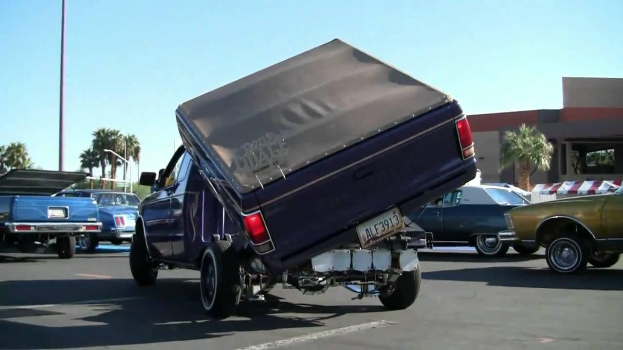 Hydraulic Truck Bed Lowrider Las Vegas Pt Viii Youtube