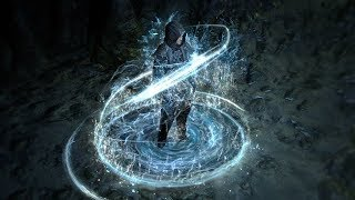 Path of Exile: Water Elemental Character Effect