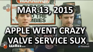 The WAN Show - WHAT Was Apple THINKING?? with Guest Jon Rettinger! - Mar 13, 2015