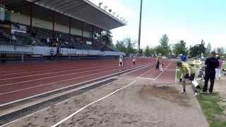 Karla Könönen 1000 m 3.38,97