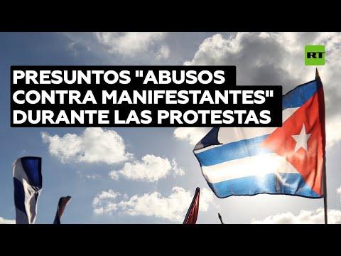 """Cuba rechaza las sanciones estadounidenses por presuntos """"abusos contra manifestantes"""""""
