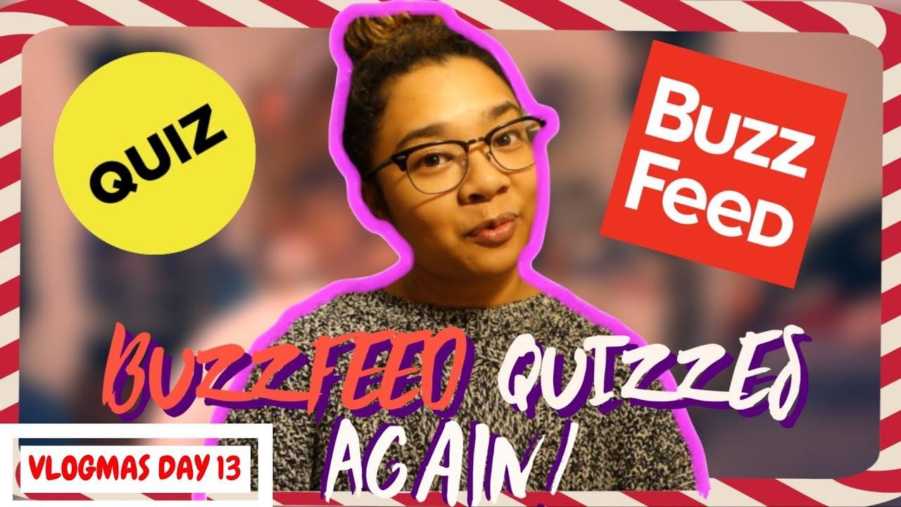 christmas buzzfeed quizzesagain vlogmas 2017