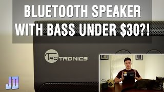 TaoTronics Pulse X 14W Bluetooth Speaker Unboxing and Review – Unboxing With My Cat | Tech Gear