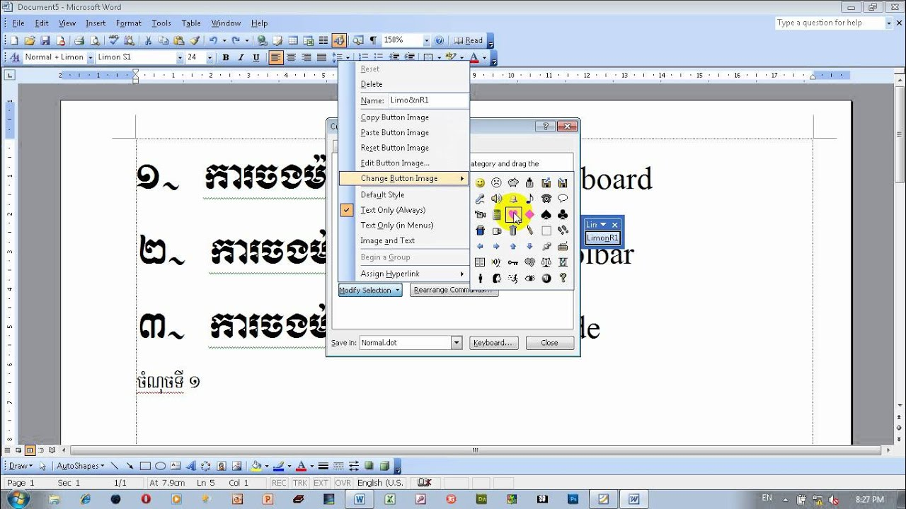 how to make a macro in word