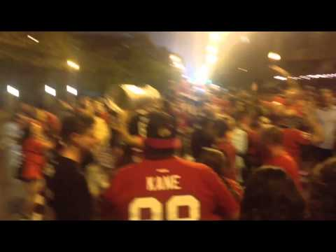 Chicago Blackhawks - Stanley Cup 2015 - Madison Street Celebration