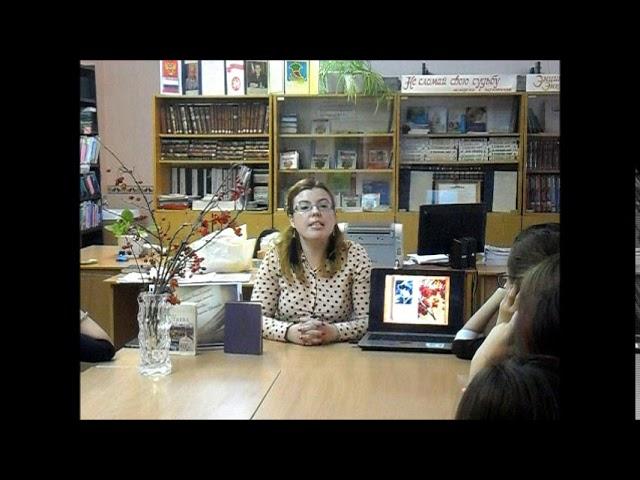Изображение предпросмотра прочтения – ОксанаСтепанова читает произведение «Красную кистью...» М.И.Цветаевой