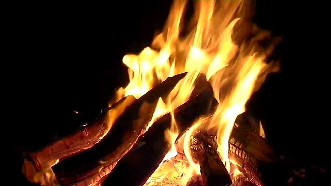 relaxing campfire video campfire with sounds of nature youtube