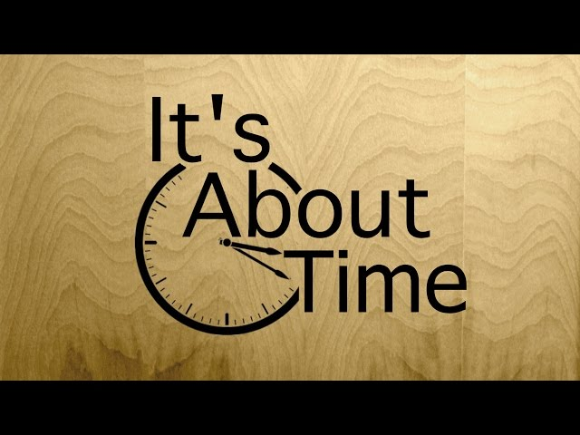 It's About Time - Lyric video