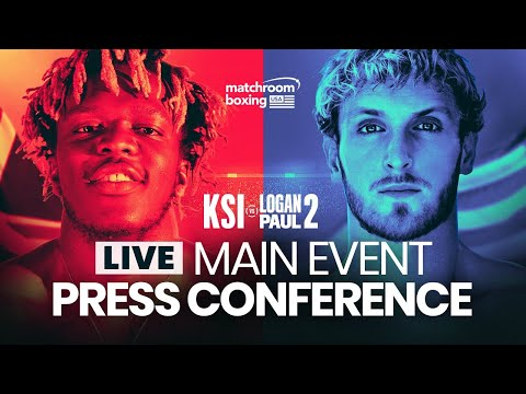 KSI vs. Logan Paul 2 FINAL PRESS CONFERENCE (Official Live S