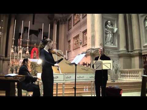 Antiche Musiche a Malcesine 2013 - Contrasto Armonico -Telemann - Sonata a tre in Re min.