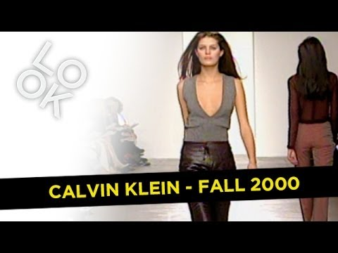 Fashion Flashback: Calvin Klein Fall 2000