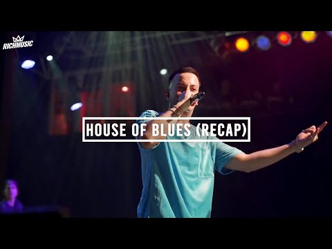 Justin Quiles in Orlando - House of Blues (Recap)