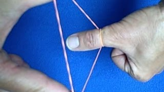 Rubber Band Through Thumb - Revealed