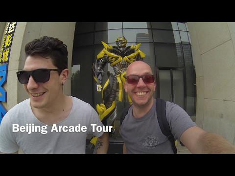 Beijing Arcade Tour - Part ONE | Beijing | GoPro Video