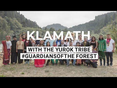 The #guardiansoftheforest meet the Yurok