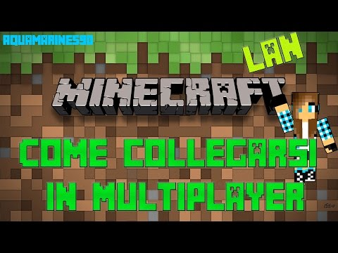 Tutorial - Come Collegarsi In Multiplayer (LAN) Minecraft