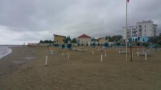 Strand Spaziergang VILLAGGIO RUBICONE