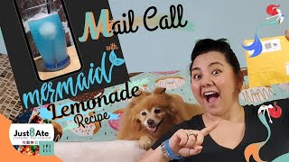 Mail Call with Mermaid Lemonade Summer Drink Recipe | Support Small Business | Just8ate
