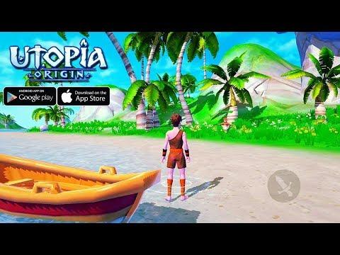 Utopia Origin: MMORPG de sobrevivência!!! OpenWorld PvP, voar, construir LIBERDADE!!! - Omega Play #ZigIndica35