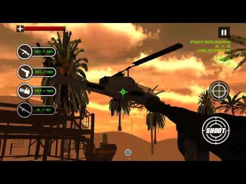 Phone game:Modern Battle Sand Sniper 3D-google play