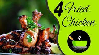 4 Best Fried Chicken Recipes | Chicken Fry Recipes | Fried Chicken Recipes | Bakrid Special Recipes