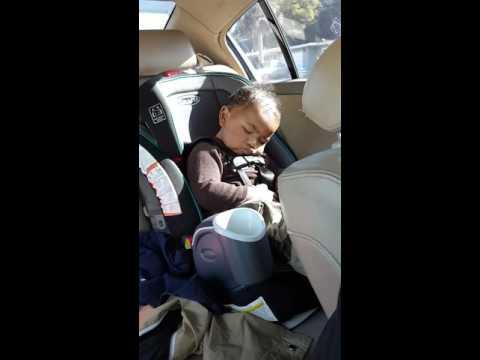 Baby Wakes up To Music