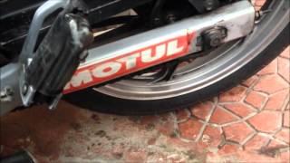 Motosiklet Zincir Ayarı