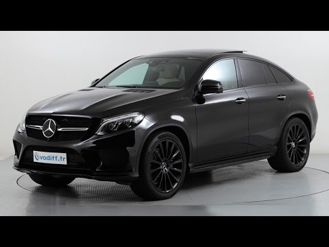 mercedes gle coup 350d 4 matic pack sport amg 9g tronic youtube. Black Bedroom Furniture Sets. Home Design Ideas