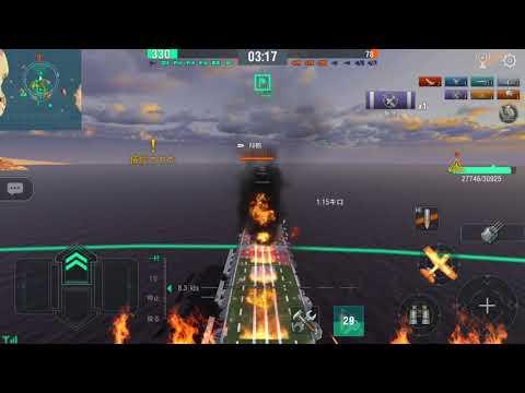 Imperial Japanese Navy Shōkaku~san [翔鶴] Aircraft Carrier World of Warships Blitz Aggressive Gameplay