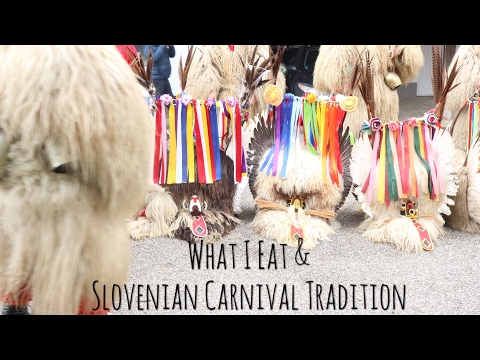 What I Eat #2 / vegan /  Februaty at home / Slovenian Carnival Tradition