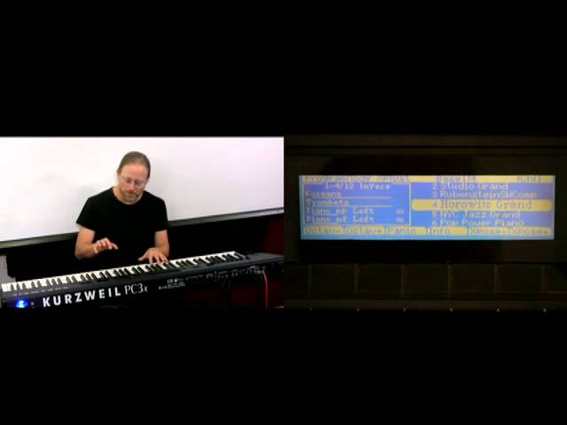 15 Kurzweil PC3 Series: Setup Mode Intro