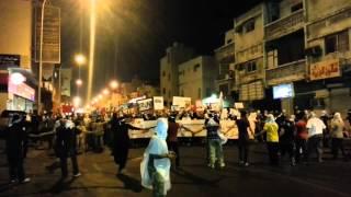 Demonstrations Qatif in eastern Saudi Arabia July 27, 2012