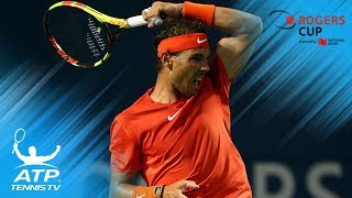 Top 10 Best Shots & Rallies from Rogers Cup 2018