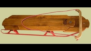 Wooden Sleds Mountain Boy Sledworks Classic Flyer Sled