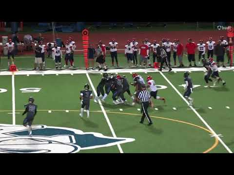 Keaau High School Football Junior Santiago RB