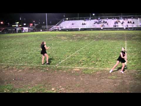 Emma Rhodes Twirling for McKinley Middle School WV