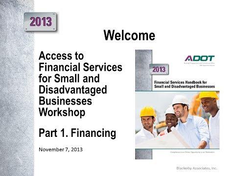 Financial Services Workshop Part 1