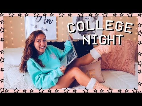 REAL college nighttime routine! the university of georgia