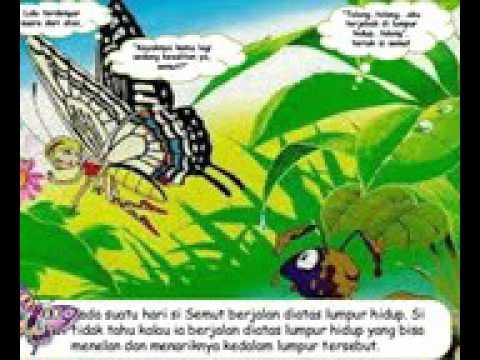 Dongeng Kupu Kupu Dan Semut Zainal Work From Indonesia Youtube