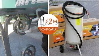 c2m-negoce.com vidéo sableuse aerogommeuse 44L