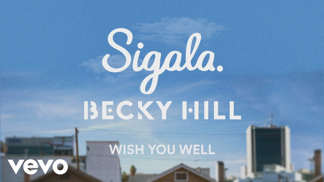 Sigala, Becky Hill - Wish You Well (Lyric Video)