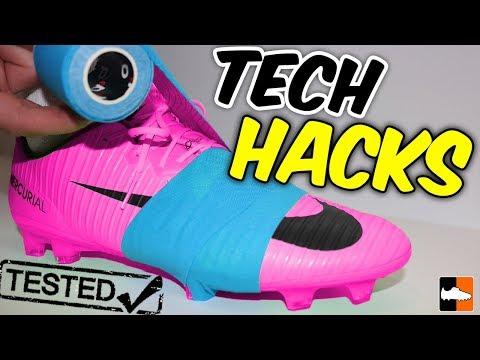 Football Boot Tech Hacks Tested! DIY Tricks