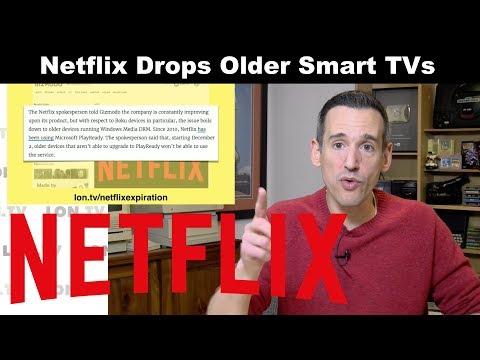 Netflix Drops Support For Older Smart TVs