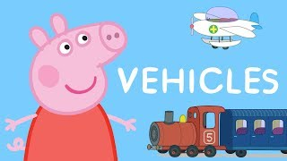 Peppa Pig LEARN VEHICLES for Children 🚗 Learning with Peppa Pig thumbnail