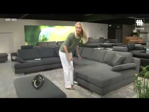 musterring mr 360 ruime hoekbank bij profita youtube. Black Bedroom Furniture Sets. Home Design Ideas